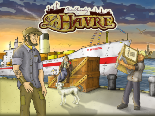 LeHarve1 500x375 Le Havre ipad screenshot