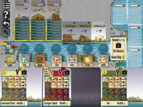 LeHarve5 500x375 Le Havre ipad screenshot