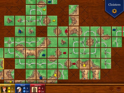 carcasonne3 500x375 Will the iPad Ever Replace Conventional Board Games? ipad screenshot