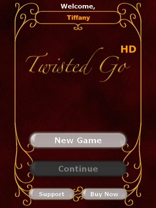 Twisted Go title screen