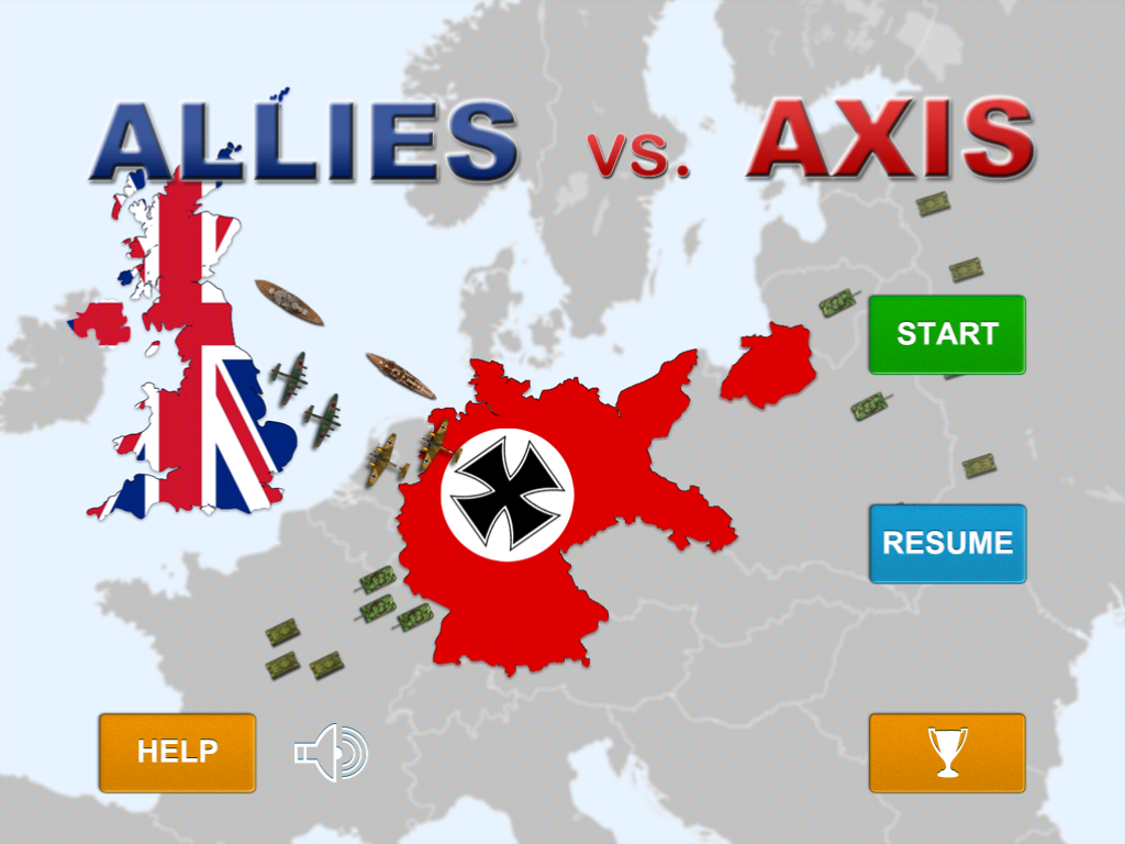 Allies vs Axis iPad Review
