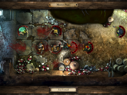 warhammer 9 500x375 Warhammer Quest ipad screenshot