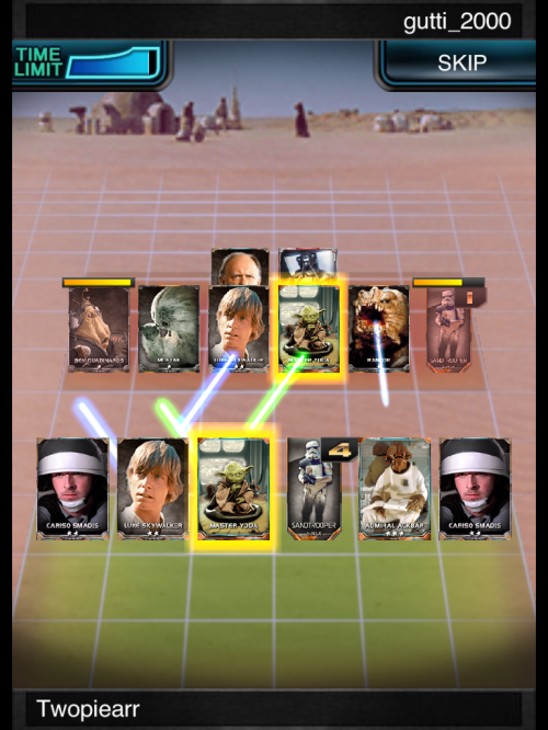 Nothing says star wars like cards with light sabers!