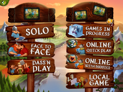 Small World 2: Main Menu