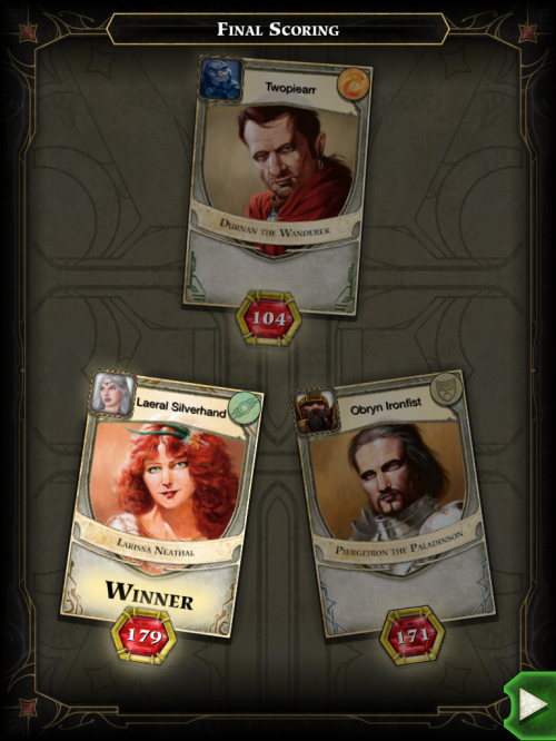 lords of waterdeep winner