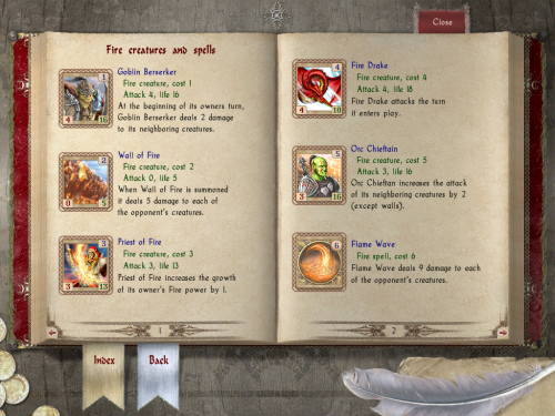The in-game guide book