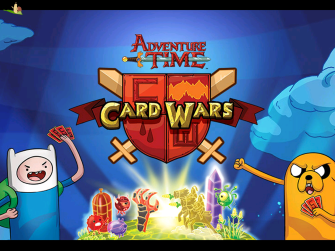 card wars adventure time logo