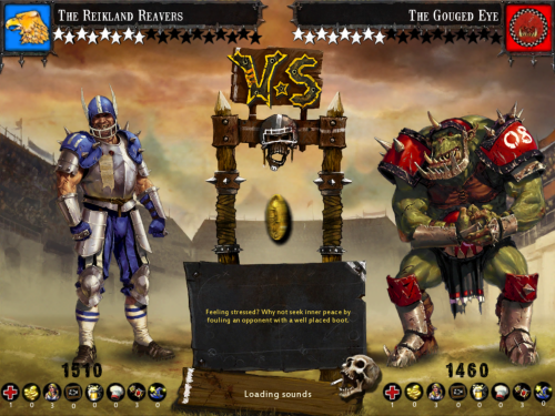 Blood Bowl matchup