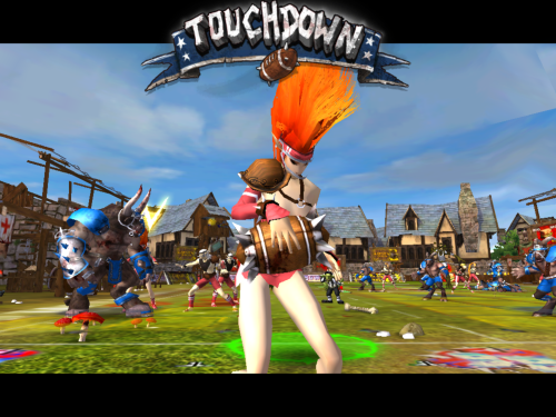 Blood Bowl touchdown 1
