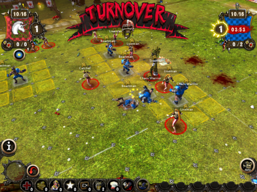 Blood Bowl turnover