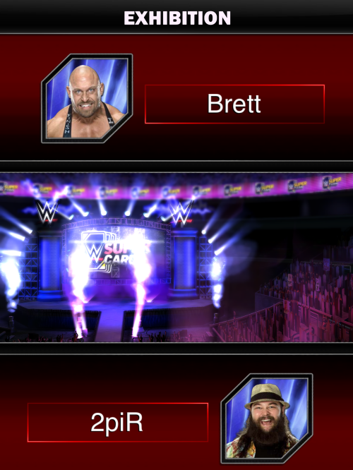 WWE Supercard exhibition