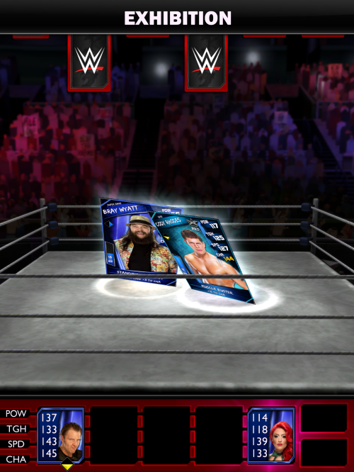 WWE Supercard match
