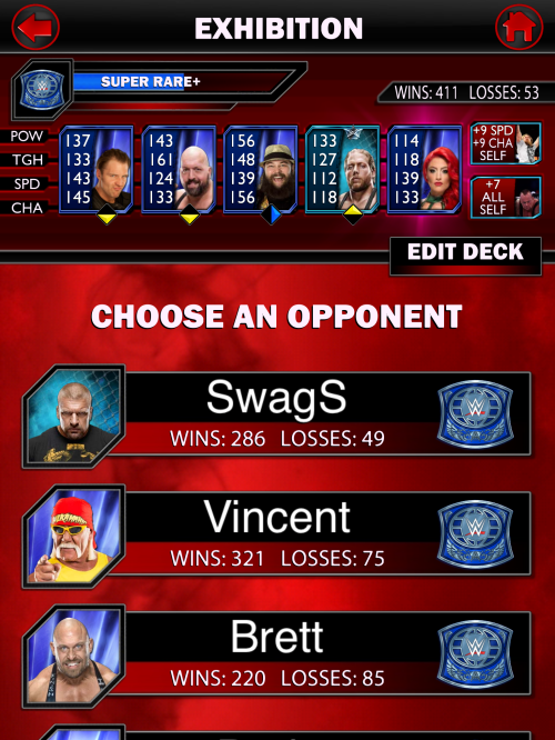 WWE Supercard opponent