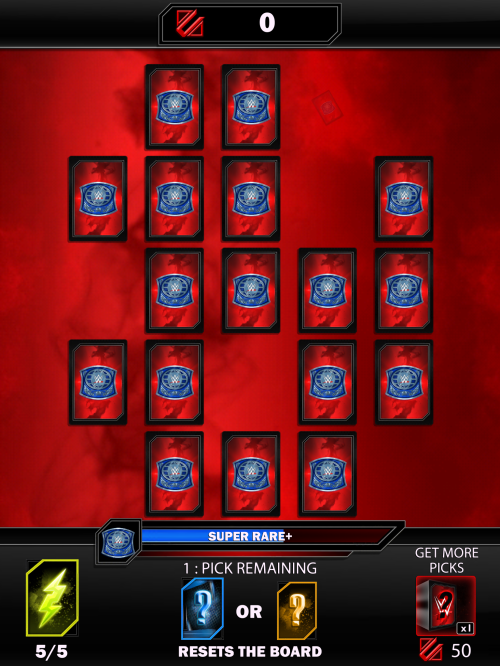 WWE Supercard pick