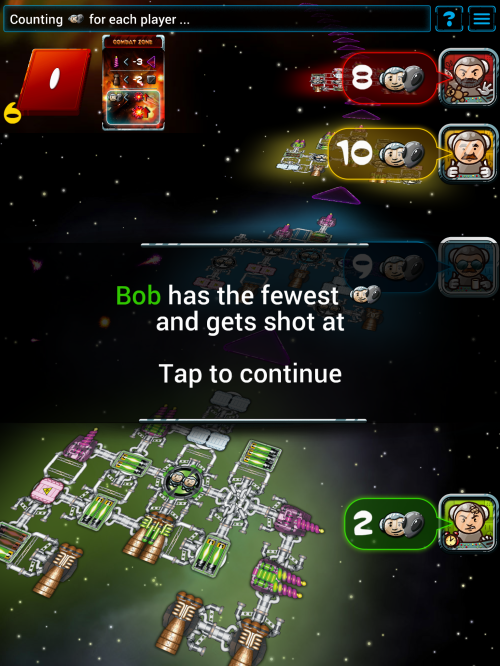 galaxy trucker bob gets shot