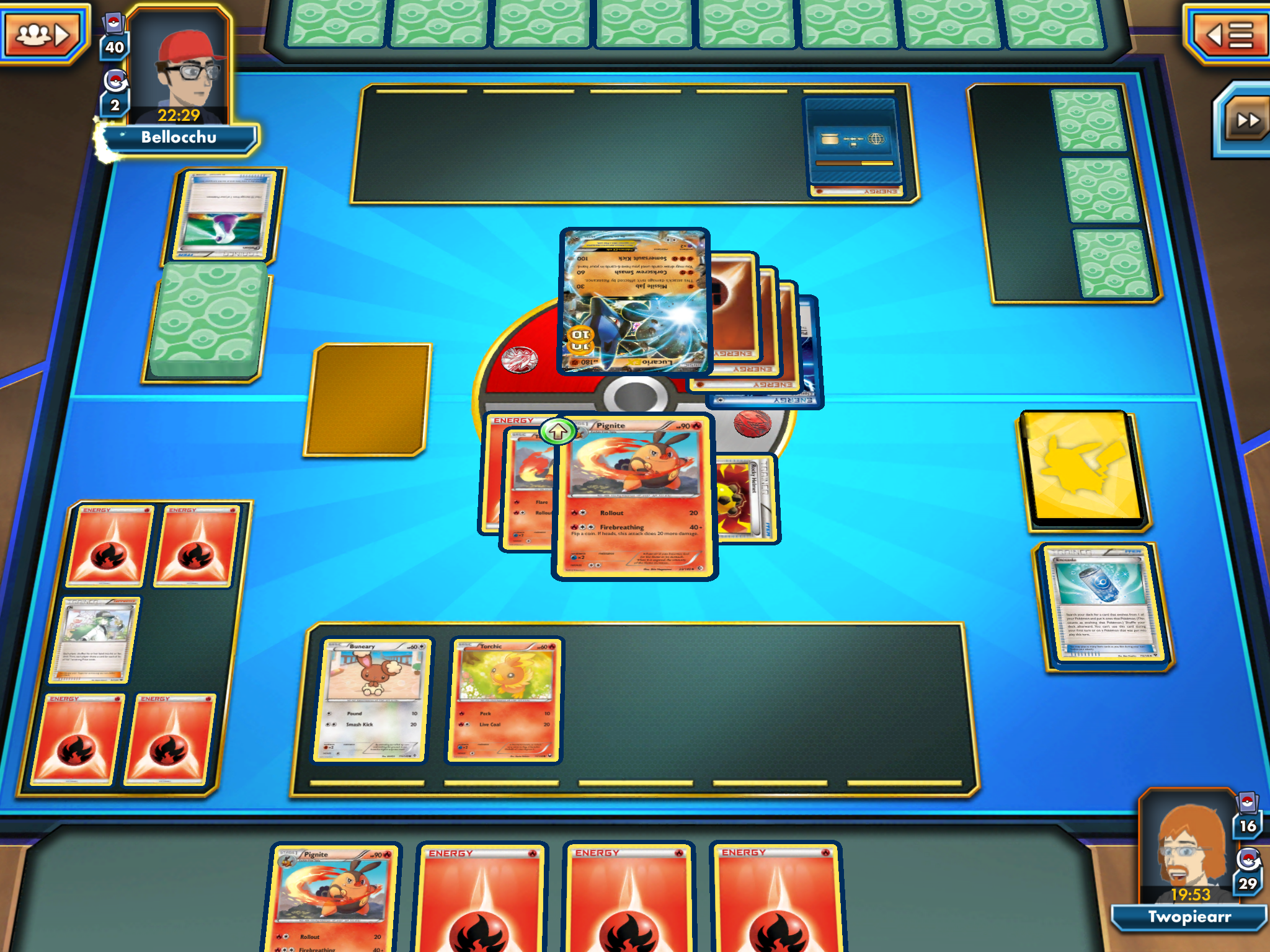 Ptcg focuses exclusively on the arena battles that make up the core of