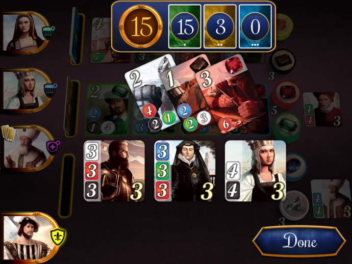 Splendor points breakdown