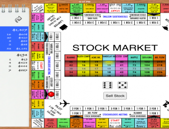 Stock Market Board Game