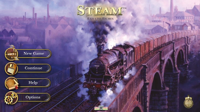 Steam: Rail to riches gameplay review