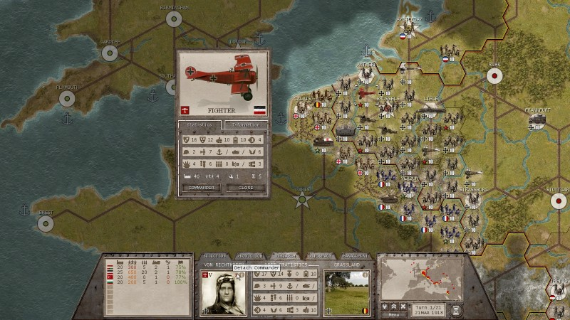 commander the great war ipad board game fighter jet
