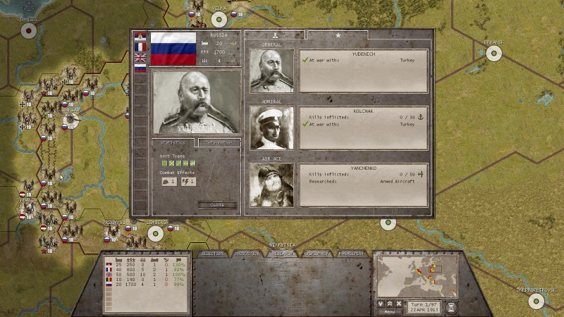 commander the great war ios game screen