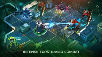 X-Mercs gameplay screen