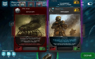 Xenoshyft battle gameplay screen 2