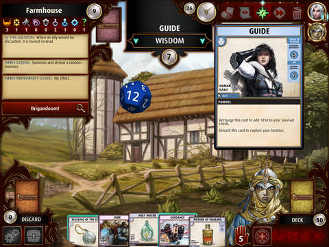 pathfinder game interface