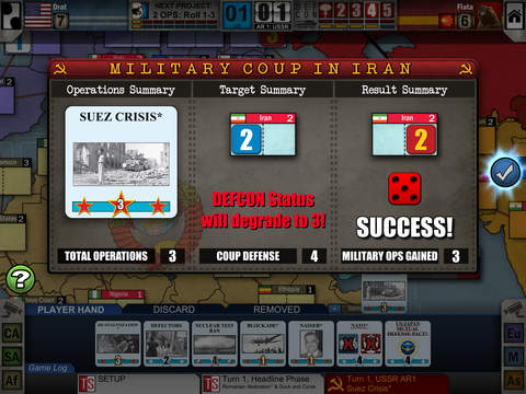 Twilight Struggle iPad Board Game review