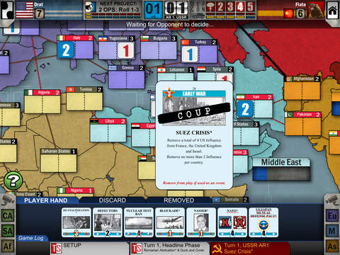 Twilight Struggle iOS review by ipadboardgames